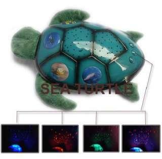 Twilight Star Constellation Ladybug / Turtle / Sea Turtle Night Light