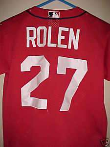 MLB St. Louis Cardinals Scott Rolen #27 Replica Jersey
