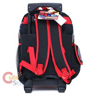 Spiderman School Roller Backpack Rolling Bag Monster 4
