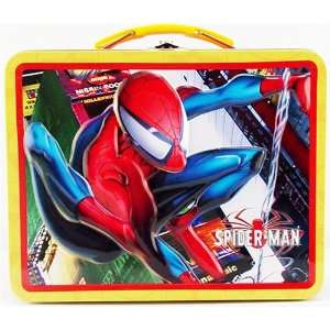 Spiderman Child Tin Lunch Box Bag Collectible Office