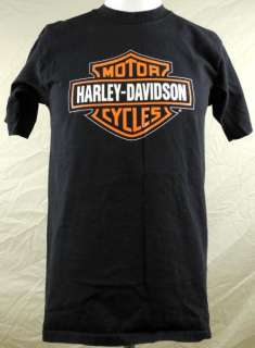 Motorcycles Mancuso Houston Texas Mens T shirt Medium Black Logo