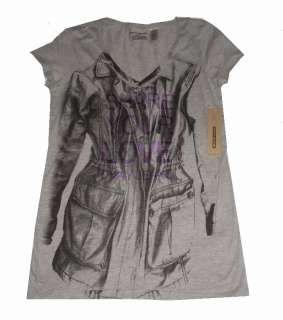 NWT~DKNY~SHARE YOUR LOVE~WOMENS~T SHIRT~S (SMALL)