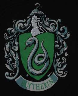 Harry Potter Hogwarts School Slytherin Crest T Shirt Tee