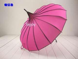 New Fshion Pagoda Parasol wind proof umbrella Polyester Super UV 5