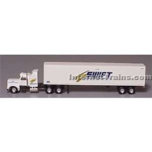 Con Cor N Scale Semi Truck w/48 Trailer   Swift: Toys