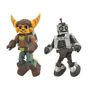 Mini Figure 2Pack Ratchet Clank Ratchet Clank Future Toys & Games