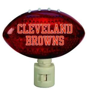 NFL Cleveland Browns Football Shaped Night Lights