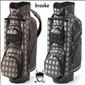 Cutler Brooke Womens Golf Bag (ColorBrown Argyle):  Sports