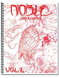 Todd Noble Holloway Volume 1 Tattoo Flash Sketch Book