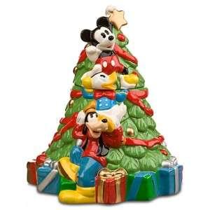 Mickey & Friends Christmas Tree Cookie Jar