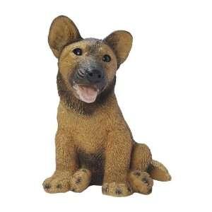 German Shepherd Puppy Dog Statue Patio, Lawn & Garden