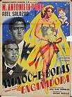 690 La Engañadora, original Mexican Movie Poster, Ma. Antonieta Pons