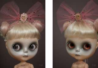 OOAK Custom Blythe Doll by I.G. Sirenita Sugar and Bones
