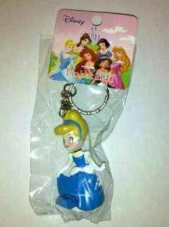 Cinderella, Blue Dress, Princess Keychain Figure, 1 Pc