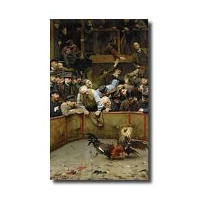 The Cockfight 1889 Giclee Print: Home & Kitchen