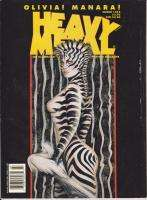 MARCH 13, 1995 *HEAVY METAL* MAGAZINE ZEBRA WOMAN J