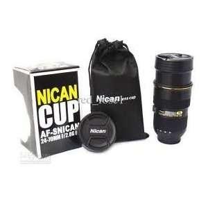 Zoom able Coffee Mug in the Shape of Nikon 24 70 Lens