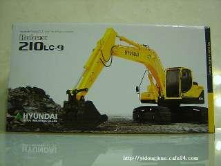 HYUNDAI ROBEX 210LC 9 CONSTRUCTION EXCAVATOR CAR TOYS