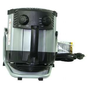 Comfort Zone Deluxe Ceramic Utility Heater, 750/1500W