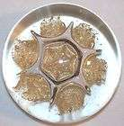 Star Marini Solid Glass Paperweight Collector Item Art Glass