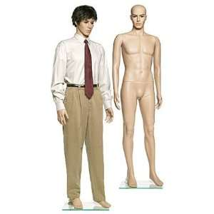 Plastic Male Mannequin With Wig Arts, Crafts & Sewing