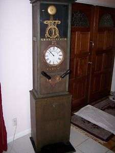 GRANDFATHER CLOCK STRENGTH TESTER COIN OP PENNY ARCADE