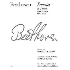Harold Craxton, Sir Donald Francis Tovey, Ludwig van Beethoven: Books