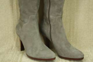 Cole Haan Nicole Air Tall Grey Suede Boots size 10