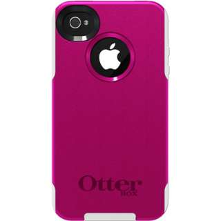 OtterBox Commuter Strength Case for iphone 4 & 4S, Hot Pink/ White