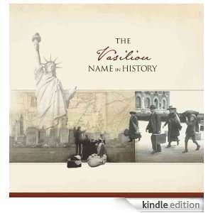 The Vasiliou Name in History: Ancestry  Kindle Store