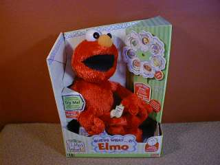 Fisher Price Sesame Street GUESS WHAT ELMO Talking Doll