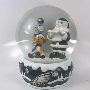 Philadelphia Eagles 2011 NFL Holiday Snow Globe Sports