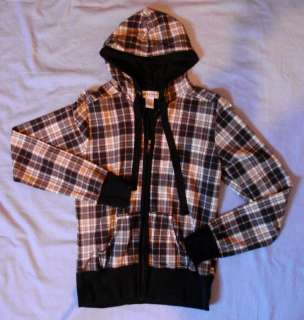 Ladies hoodie jacket with zipper   XL   Cute