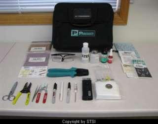 Panduit FIELDKIT Fiber Optic Termination Kit ~STSI