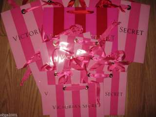 GIFT WRAPPING shoping BAG BOX victoria secret S LOT 20