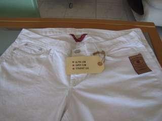 BRAND JEANS WOMEN WHITE ULTRA LOW DIFERENT SIZES 100% COTON