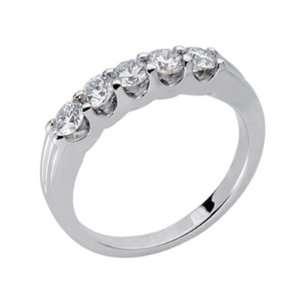 White Gold Diamond Band Jewelry