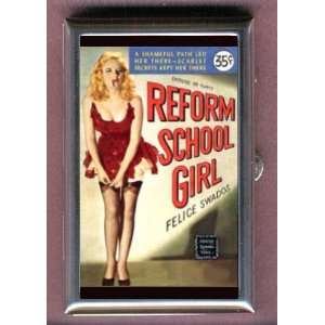 REFORM SCHOOL GIRL PULP Coin, Mint or Pill Box Made in