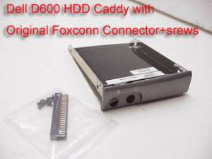 Dell Latitude D500 D600 HDD Caddy + Cover + Connector