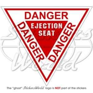 DANGER   Ejection Seat RAF Martin Baker   Sticker Decal