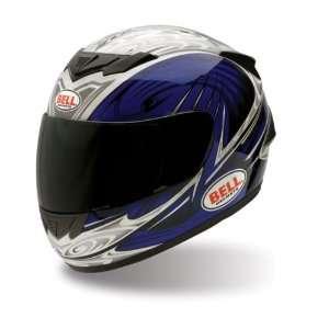 Bell Apex Edge Blue/Silver Full Face Street Helmet   Size