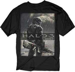HALO ODS Rain Video Game  shir BRAND NEW |