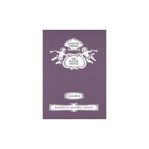 Chor Und Bl?ser, Partitur (9790201720623): Annette Thoma: Books