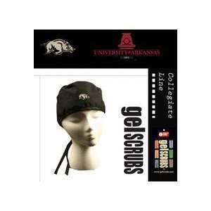 Razorbacks Scrub Style Cap from Gelscrubs (with Running Hog Logo