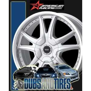 RACING PERFORM wheels ALERT Silver w/ Machined Lip wheels rims