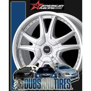 RACING PERFORM wheels ALERT Silver w/ Machined Lip wheels rims