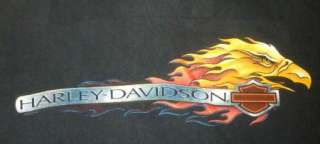 HARLEY DAVIDSON T Shirt ROCKY MOUNT NC Vintage BLACK Motorcycle BIKER