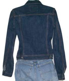 NWT LUCKY BRAND JEANS Size Large Denim Slim Fit Jacket $168 Womens Jr