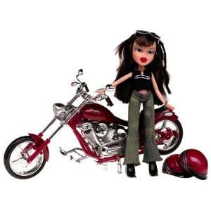 Bratz Motorcycle Style Jade Doll Toys & Games