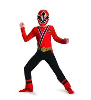 Power Rangers Red Ranger Samurai Classic Costume Child Medium 7 8 *New